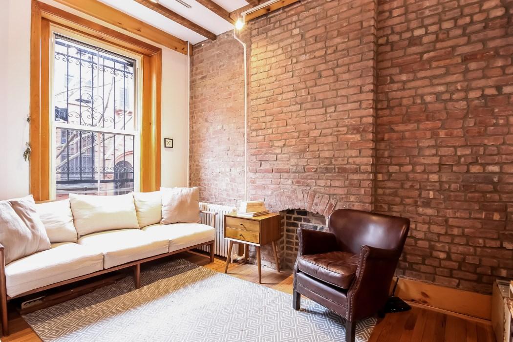 8 warren place, living room, warren place mews, cobble hill