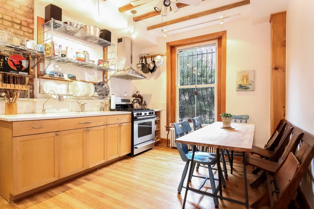 8 warren place, kitchen, cobble hill, brooklyn, warren place mews