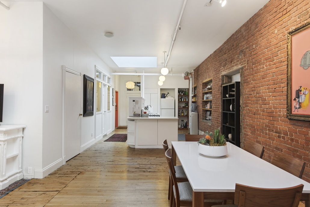 81 grand street, loft, dining area