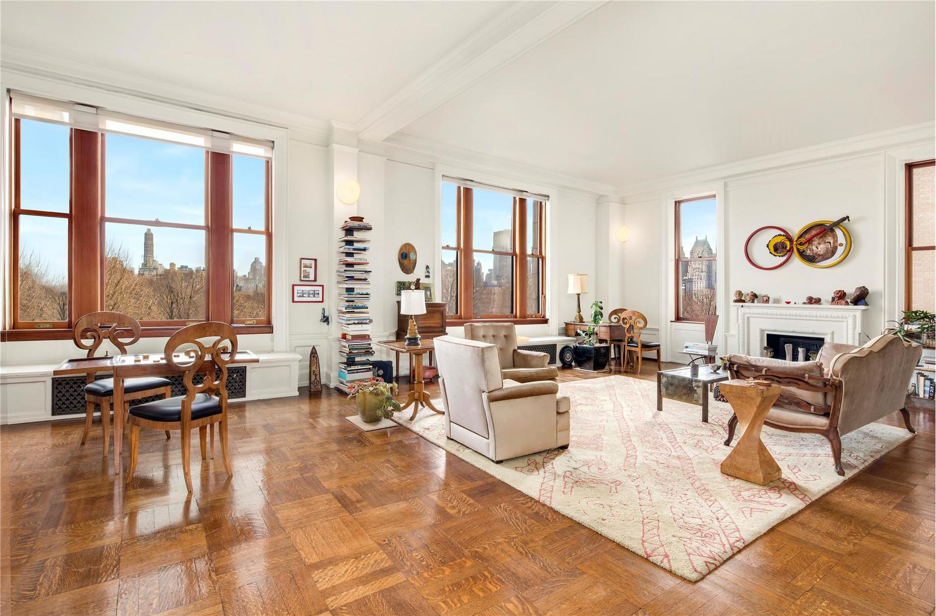 this 18m prewar co op is the kind of apartment that invented central park views 6sqft. Black Bedroom Furniture Sets. Home Design Ideas