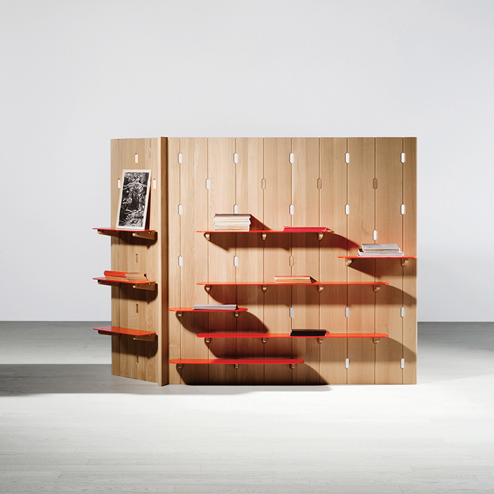 Gilles Belly, room furniture collection, VIA