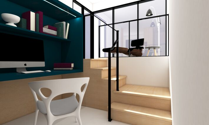 MKCA, Michael Chen Architects, tiny apartments, NYC micro housing, Micro Duplex