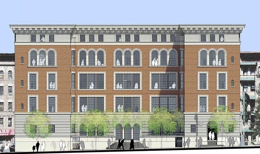 Affordable Housing Lottery Kick Off At PS 186 In Harlem Hamilton Apartments