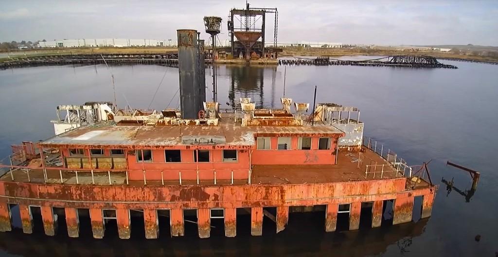 Staten Island, Ship Graveyard, Arthur Kill Ship Graveyard