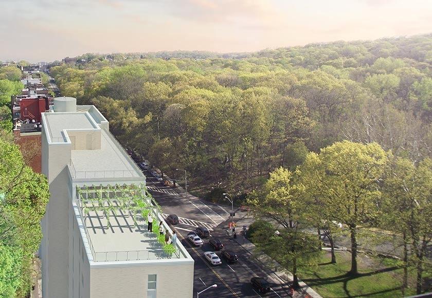 Van Cortlandt Green, Dattner Architects, affordable senior housing, NYC affordable housing lotteries, Riverdale real estate