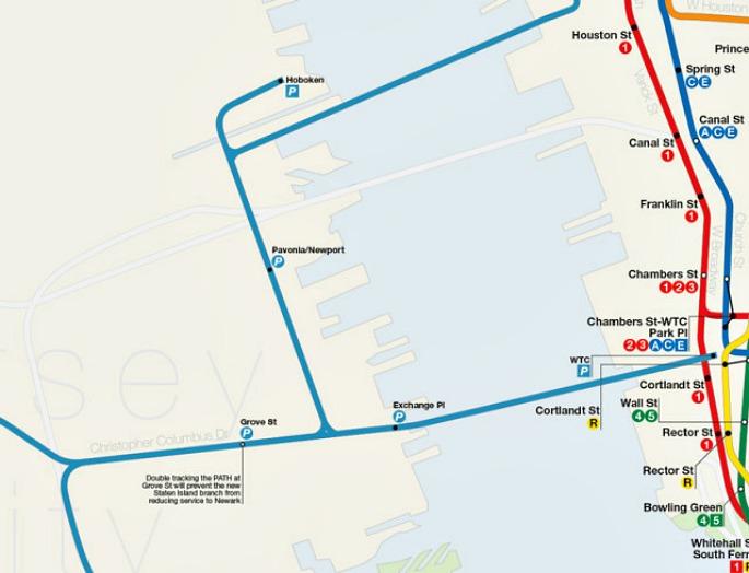 Staten Island Ferry Subway Line