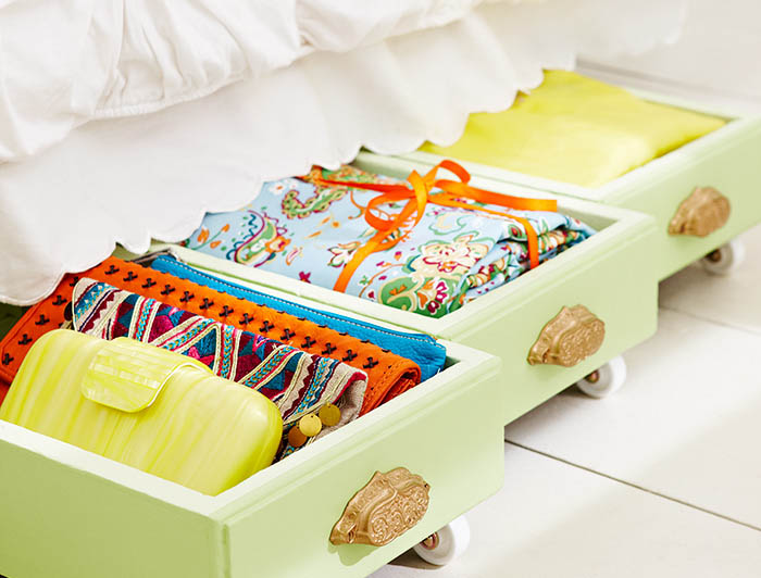 10 clever creative and unexpected storage ideas for - Under the bed storage ideas ...