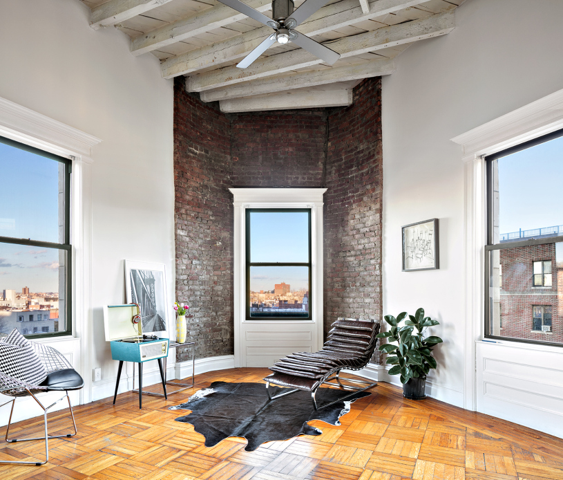 Triangle Place Apartments: $1.8M Flatiron-Shaped Prospect Heights Co-op Gets The