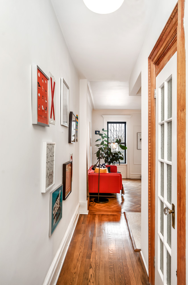404 3rd street, hallway, entrance, co-op, park slope