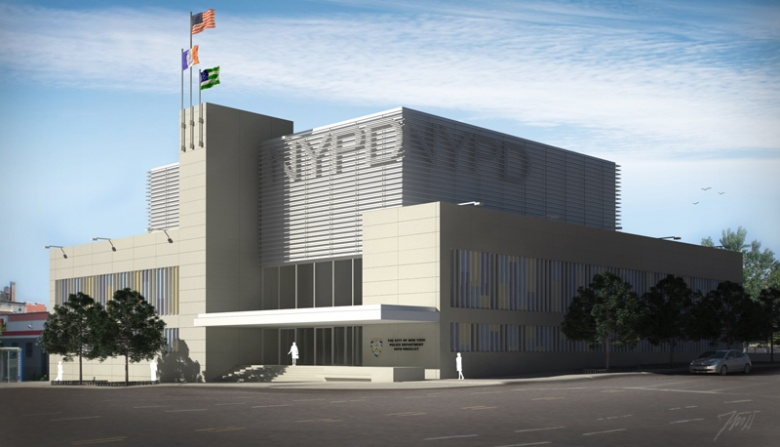 NYPD 40th Precinct station house, Karlsberger, Department of Design and Construction