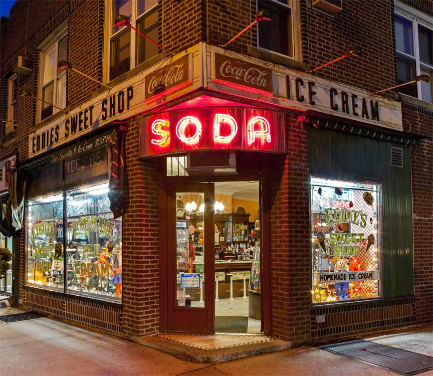 Eddie's Sweet Shop, Privilege Signs, James and Karla Murray, disappearing storefronts, NYC mom and pops