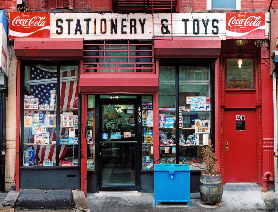 Jimmy's Stationary, Privilege Signs, James and Karla Murray, disappearing storefronts, NYC mom and pops