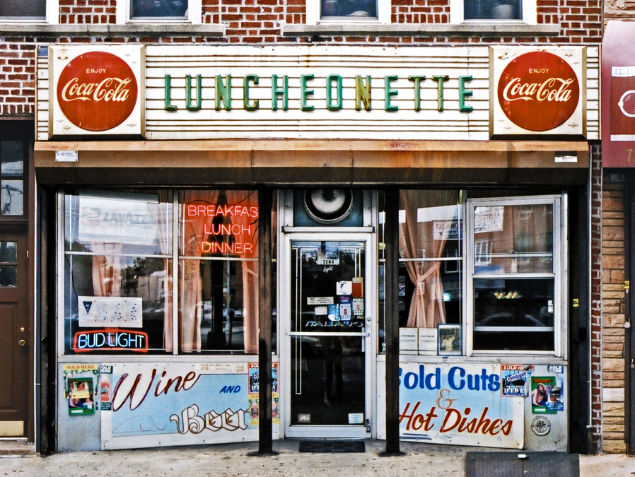 New Utrecht Luncheonette, Privilege Signs, James and Karla Murray, disappearing storefronts, NYC mom and pops