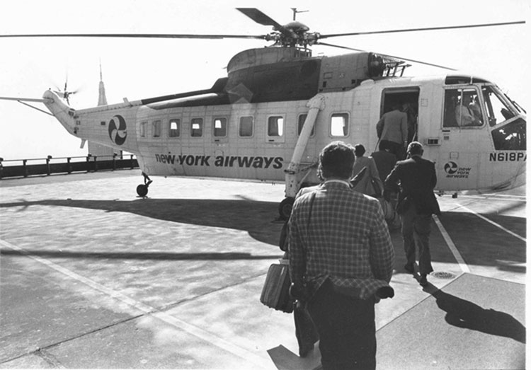 new york airways pan am building helipad