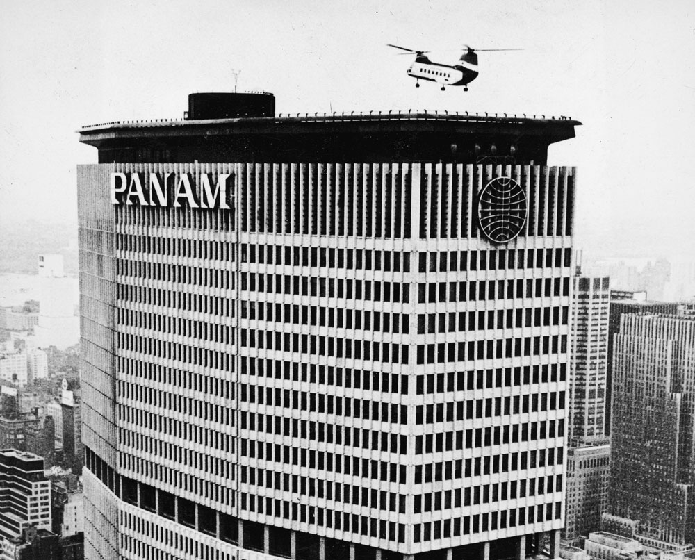 pan am helipad