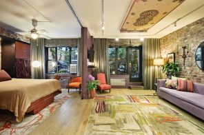 A magic carpet and koi pond await at this $1.55M SoHo co-op