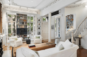 News journalist Linda Ellerbee lists her historic West Village townhouse for $10.75M