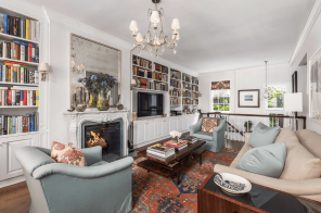 Asking $7.8M, this 1845 West Village townhouse has been renovated and decorated with timeless style