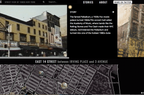 Explore 1980s NYC street by street with this interactive map