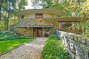 Frank Lloyd Wright's mushroom-shaped house in Westchester asks $1.5M