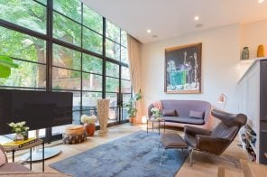 Chelsea townhouse with modern Danish design asks a cool $11M