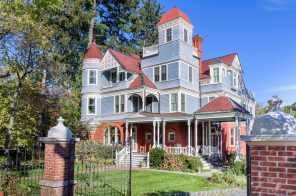 $5.2M Queen Anne Victorian in Nyack comes with its own Hudson River pier