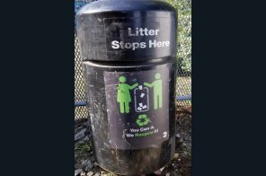 For $300, own a used subway trash can from the MTA