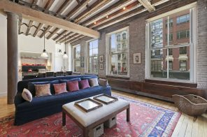 This classic $6.4M West Broadway loft is the stuff of Soho dreams