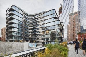 New photos show Zaha Hadid's stunning 520 West 28th Street in all its completed glory