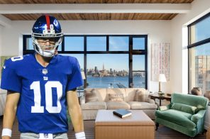 With $3.55M sale, Eli Manning's condo sets Hoboken record