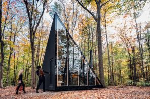 Bjarke Ingels reveals off-grid tiny house in the Catskills