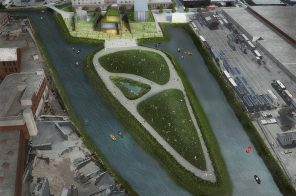Proposal revealed for new public park on the Gowanus Canal's Salt Lot