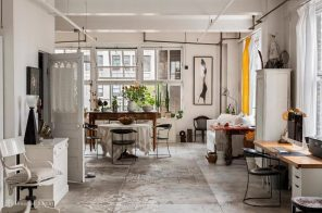 $2M boho Nomad live-work loft is an artists' dream–or a blank slate