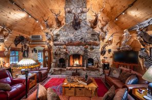 This rustic Finger Lakes cabin and taxidermy factory on 90 acres could be yours for just $1M