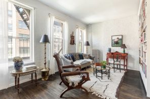 This $950K two-bedroom co-op is the picture of East Village tranquility