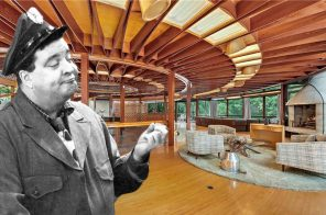 "Jackie Gleason's circular ""mothership"" mansion in Westchester is on the market for $12M"