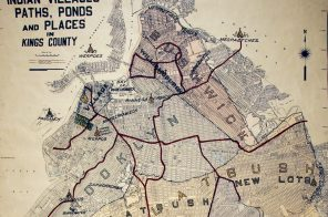 This 1946 map shows how Native American trails became the streets of Brooklyn