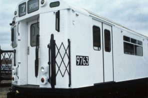 In 1981 the MTA rolled out 7,000 pure white subway cars to curb graffiti and guess what happened next
