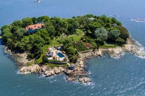 Private seven-acre Connecticut island with a garden wonderland sells for $21.5M
