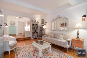 For just $128K, a Bronx co-op with Deco details and more space than you'd expect