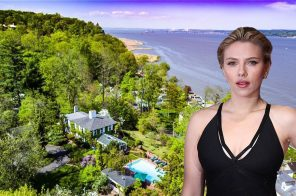 Scarlett Johansson scoops up $4M ivy-clad house in secluded Snedens Landing