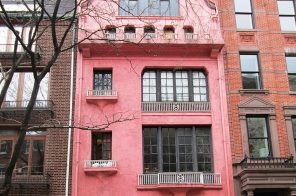 The Village's beloved pink townhouse lists as an $11M fixer-upper