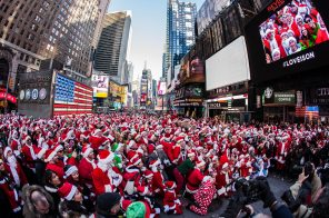 The official SantaCon 2018 map is here. Consider yourself warned.