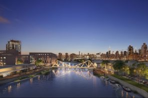 Timber bridge between Greenpoint and Long Island City gets support from local politicians