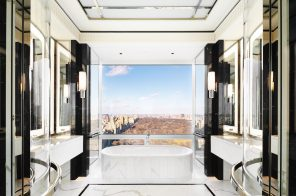 Get a rare look inside 220 Central Park South thanks to this $59K/month rental