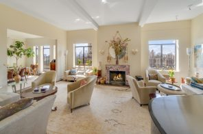 Barbra Streisand's former Central Park West penthouse hits the market for $11.25M