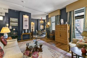 $2.3M Village co-op offers moody, understated glamour and a huge terrace