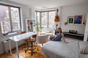 My 400sqft: How a lifestyle blogger and her husband make small-space living work for them