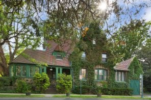 This $2.8M ivy-covered Tudor in Forest Hills Gardens was the location for 'Mildred Pierce'
