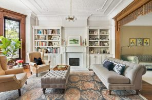 This $3.45M Park Slope brownstone has tons of original details and sits steps from Prospect Park
